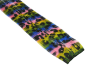 "Clip-In Extensions - Rainbow Stripe / Black Leopard 12"" (pack of 2)"