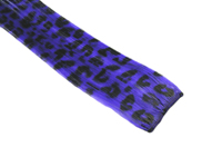"Clip-In Extensions - Violet / Black Leopard 12"" (pack of 2)"