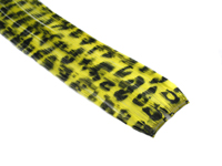 "Clip-In Extensions - Yellow / Black Leopard 12"" (pack of 2)"