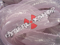 Tubular Crin - Large - Light Pink Non-Metallic (5 yds)