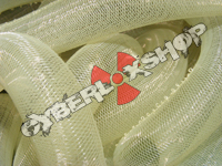 Tubular Crin - Large - Light Yellow Non-Metallic (5 yds)