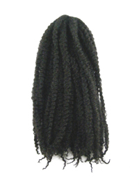 CyberloxShop Marley Braid Afro Kinky - #2 Darkest Brown