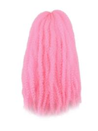 CyberloxShop Marley Braid Afro Kinky - Bubblegum Pink
