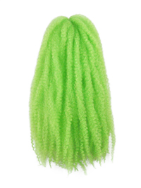 CyberloxShop Marley Braid Afro Kinky - Neon Green