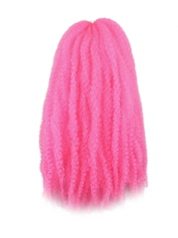 CyberloxShop Marley Braid Afro Kinky - Neon Pink