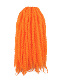 CyberloxShop Marley Braid Afro Kinky - Orange