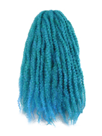 CyberloxShop Marley Braid Afro Kinky - Petrol Blue (Transitional)
