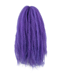 CyberloxShop Marley Braid Afro Kinky - Purple