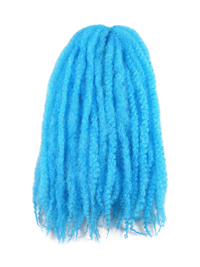 CyberloxShop Marley Braid Afro Kinky - Turquoise