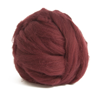 Burgundy Merino Wool (50g)