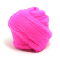 Flo Pink Merino Wool (50g)
