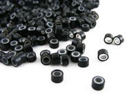 Pack of 1000 Silicone Micro Rings (Black)