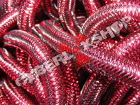 Tubular Crin - Mini - Deep Rose Metallic (5 yds)
