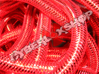 Tubular Crin - Mini - Real Red Metallic (5 yds)