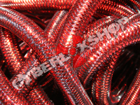 Tubular Crin - Mini - Red Metallic (5 yds)