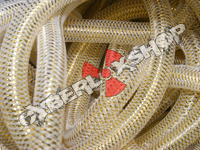 Tubular Crin - Mini - Soft Gold Metallic (5 yds) (Strips)