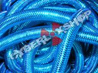 Tubular Crin - Mini - Turquoise Metallic (5 yds)