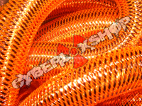 Tubular Crin - Large - Orange Metallic (5 yds)
