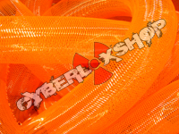 Tubular Crin - Large - Neon Orange Non-Metallic (5 yds)