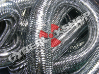 Tubular Crin - Large - Pewter Metallic (5 yds)
