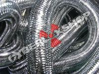 Tubular Crin - Large - Pewter Metallic (5 yds)