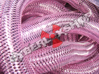 Tubular Crin - Large - Pink Metallic (5 yds)