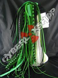 Green Predator Cyberlox Wig