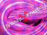 Tubular Crin - Large - Purple Fuchsia Stripe (5 yds)