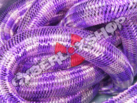 Tubular Crin - Large - Purple Pink Stripe (5 yds)