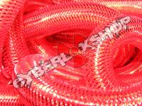 Tubular Crin - Large - Real Red Metallic (5 yds)
