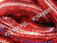 Tubular Crin - Large - Red Metallic (5 yds)
