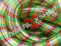 Tubular Crin - Large - Retro Rainbow Metallic Stripe (5 yds)