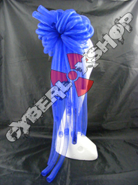 Cyberlox Scrunchie - Royal Blue Non-Metallic / Metallic