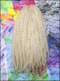 CyberloxShop Marley Braid Afro Kinky - #613 Bleach Blonde (Silky)