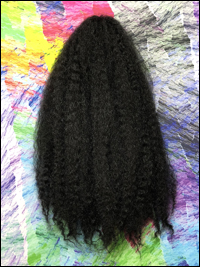 CyberloxShop Marley Braid Afro Kinky - #1 Jet Black (Silky)