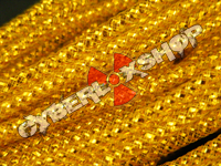 Tubular Crin - Skinny - Gold Metallic (5m)