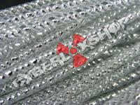 Tubular Crin - Skinny - Silver Metallic (5m)