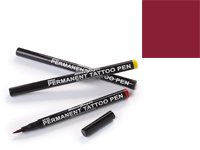 Stargazer Semi-Permanent Tattoo Pen - #2 Maroon