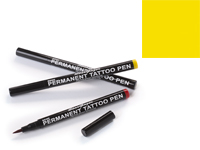 Stargazer Semi-Permanent Tattoo Pen - #3 Yellow