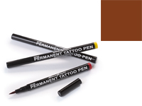 Stargazer Semi-Permanent Tattoo Pen - #4 Brown