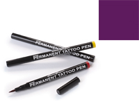 Stargazer Semi-Permanent Tattoo Pen - #7 Purple