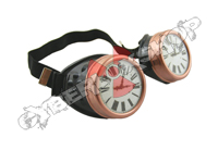 Cyber Goggles - Steampunk Clock Face