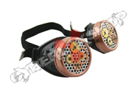Cyber Goggles - Steampunk Gears