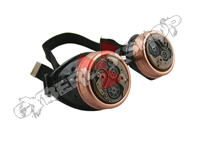 Cyber Goggles - Steampunk Antique Copper Watch Movement