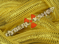 Tubular Crin - Large - Sunshine Yellow Metallic (5 yds)