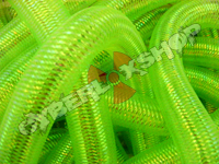 Tubular Crin - Large - Neon Green Opalescent (5 yds)