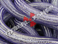 Tubular Crin - Large - Purple Pewter Metallic (5 yds)
