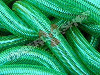 Tubular Crin - Large - Teal Metallic (5 yds)