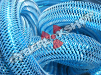 Tubular Crin - Large - Turquoise Metallic (5 yds)