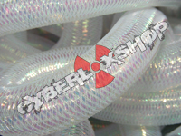 Tubular Crin - Large - White Opalescent (5 yds)